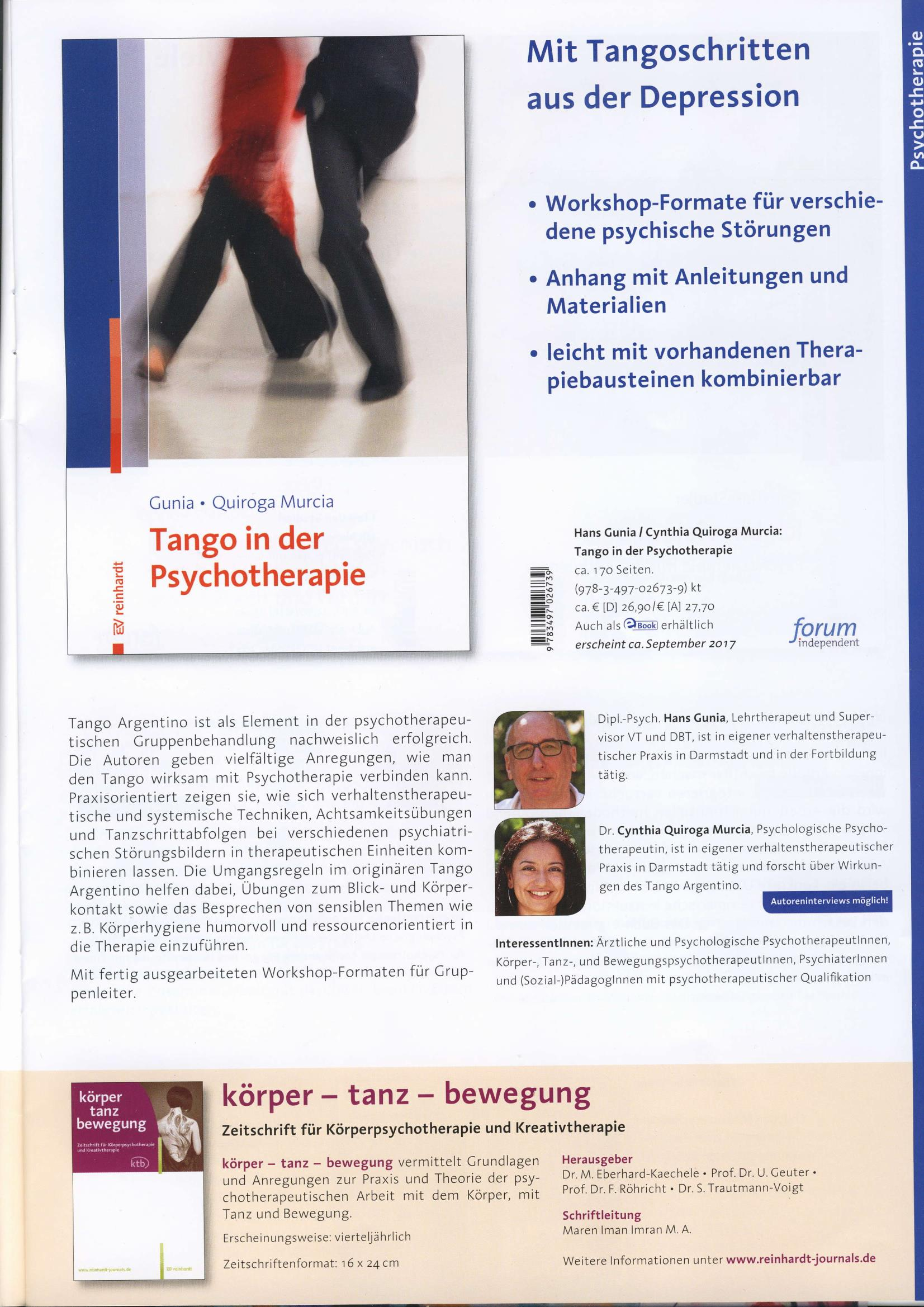 Tango in der Psychotherapie  Page 1